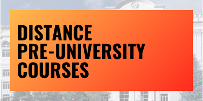 Distance Pre-University Courses
